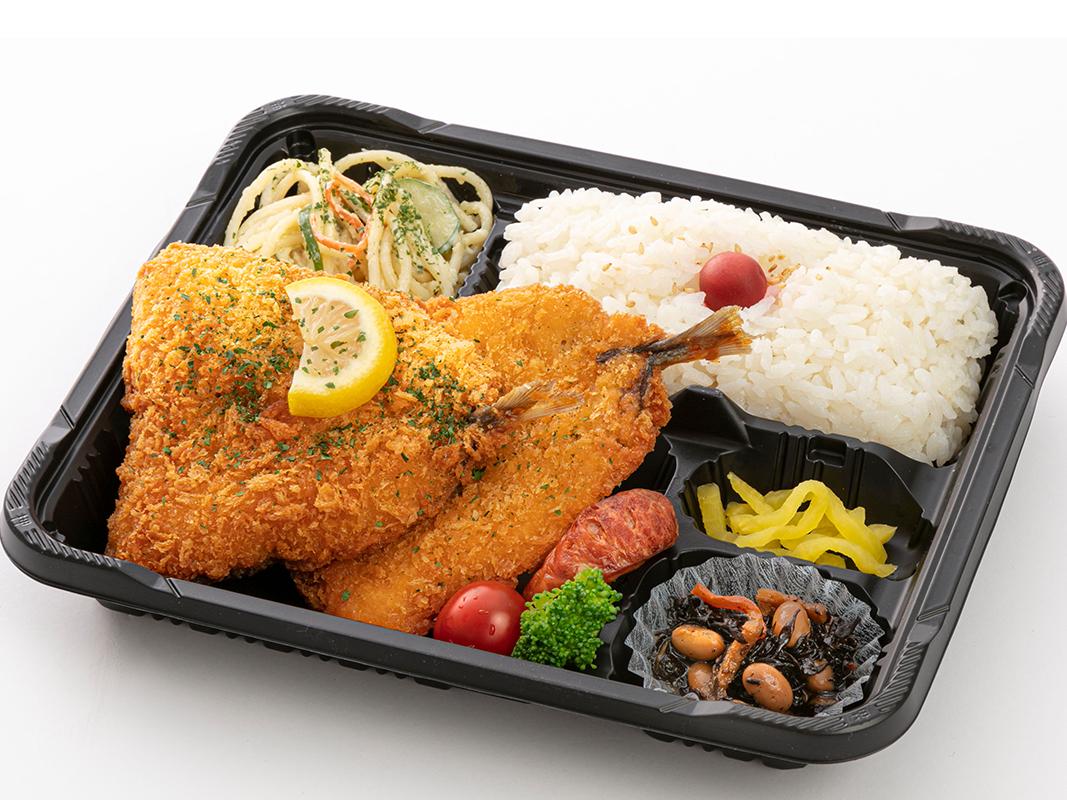 鶏と根菜の黒酢炒め弁当